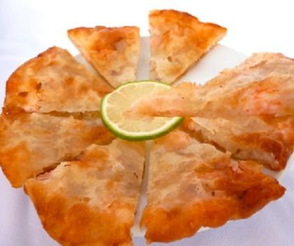 手工海鮮蝦餅